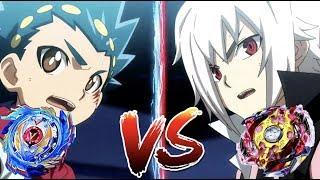 Legend Spriggan VS God Valkyrie | Beyblade Burst Battle