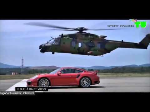 5 cuộc đua giữa siêu xe và máy bay chiến đấu