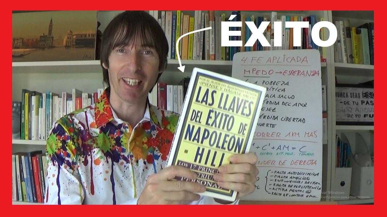 ✅ 3 LEYES del ÉXITO de Napoleon Hill Para Tu Triunfo Personal