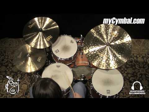 meinl 22 byzance jazz china ride cymbal with sizzle b22jchr 1120914aa youtube. Black Bedroom Furniture Sets. Home Design Ideas