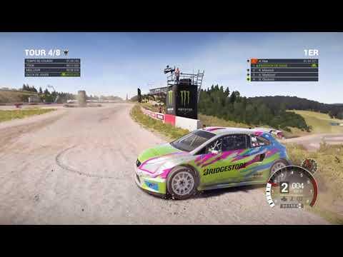 Dirt 4 rallycross world record Norway Seat ibiza