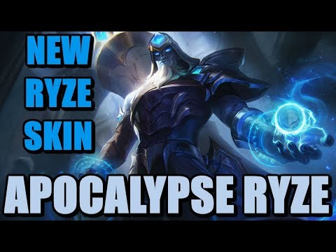 Championship Ryze skin gameplay | League of Legends | LoL