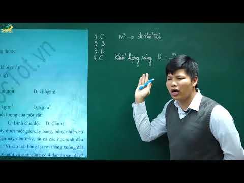Vật Lí 6 - Đề Thi Lý 6 CUỐI HỌC KÌ 1 Đề 1 (P1)|Đề Cương Ôn tập Thuyết, Kiểm Tra Trắc Nghiệm Tự Luận
