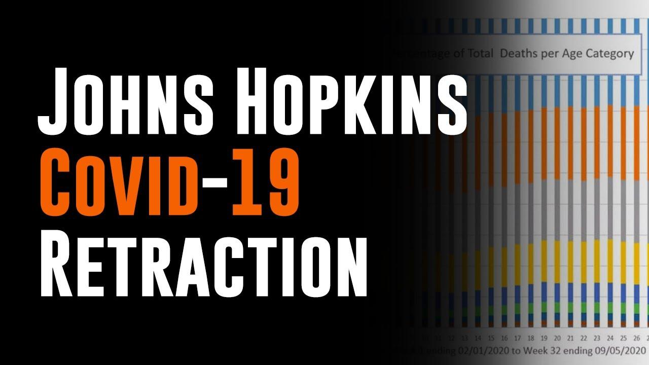 Johns Hopkins Covid Retraction