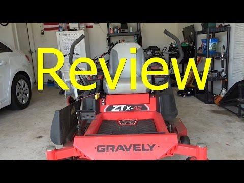 Review Gravely ZTX 42 Zero Turn 150 hour