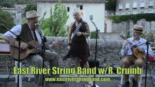 """Yellow Bee"" East River String Band w/ R. Crumb France 2013"