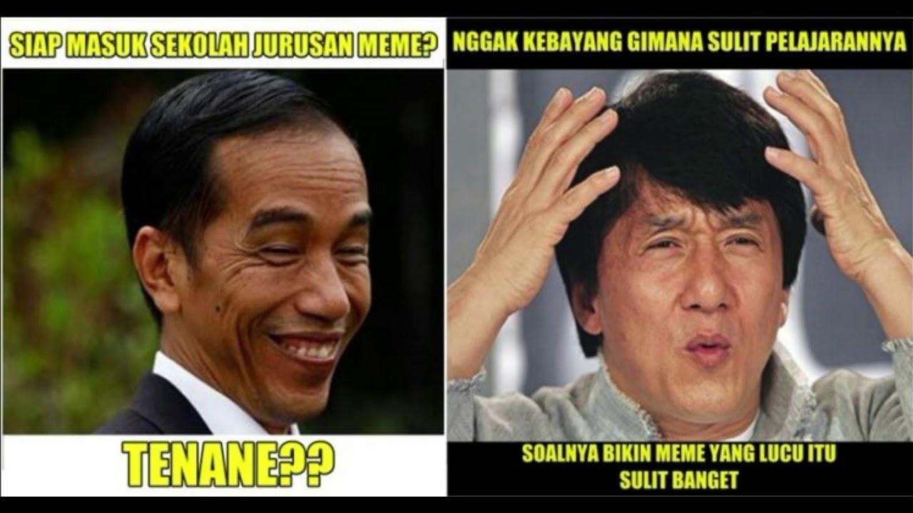MEME KOCAK PILPRES 2019 Prabowo vs Joko widodo  YouTube