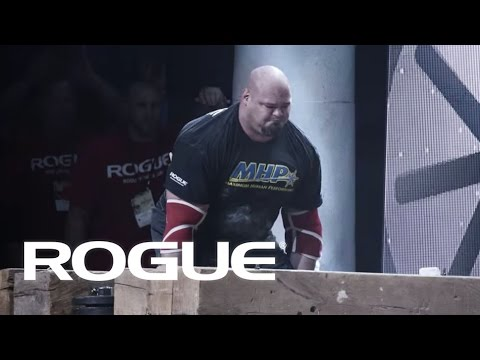 The Timber Carry - 2016 Arnold Strongman Classic