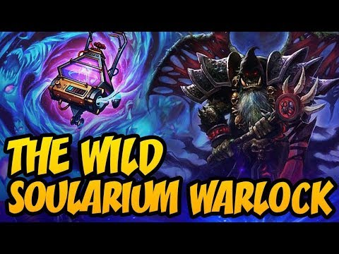 The Wild Soularium Warlock | Rastakhan's Rumble | Hearthstone