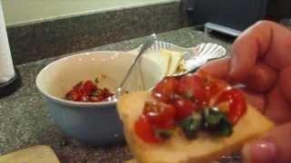 How To Make Fresh Tomato Bruschetta Topping