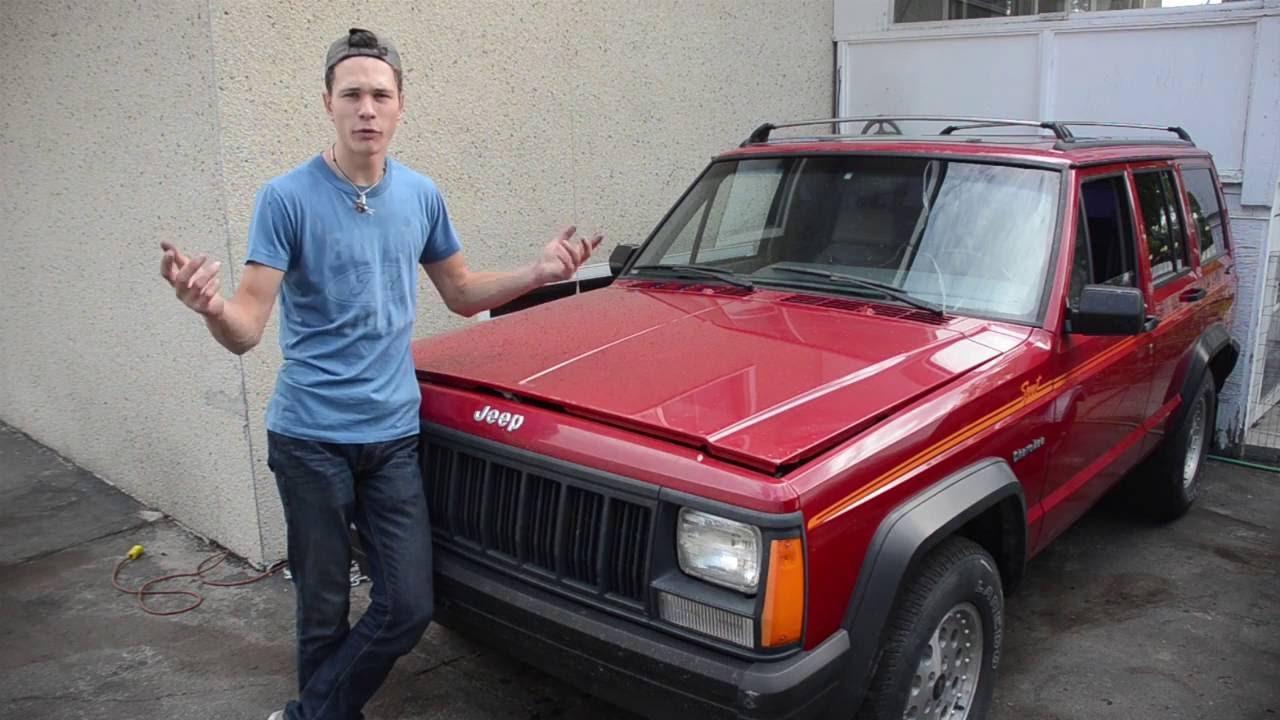 jeep xj oil [ 1280 x 720 Pixel ]