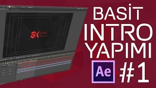 Basit Intro Yapımı #1 | After Effects Dersleri