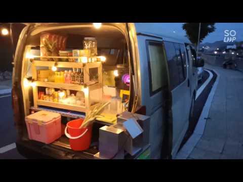 Xe Bán Hàng Lưu Động 🚐 Bia xe Vỉa Hè