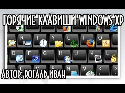 Горячие клавиши Windows XP
