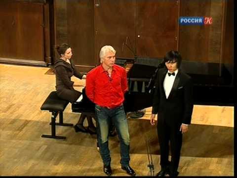 Master Class with Dmitri Hvorostovsky