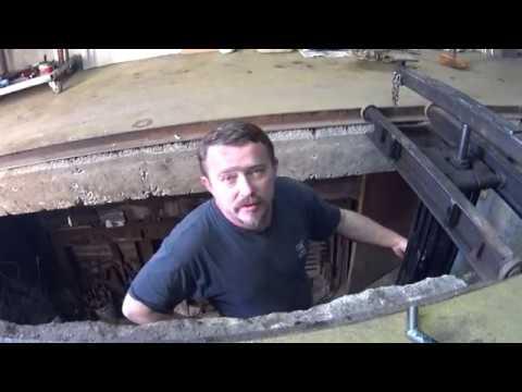 12) Самодельный подъёмник для гаража \ Передвижная станина для подъёмника своими руками