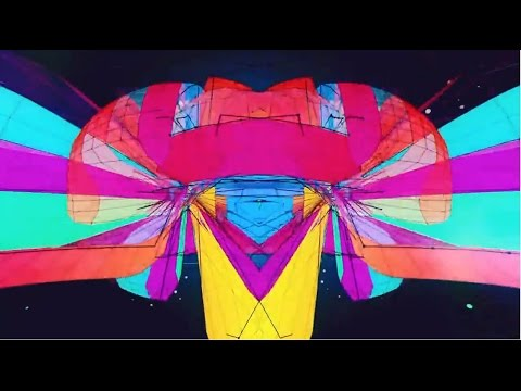 Psychedelic 3D Visuals Progressive Trance Music Mix