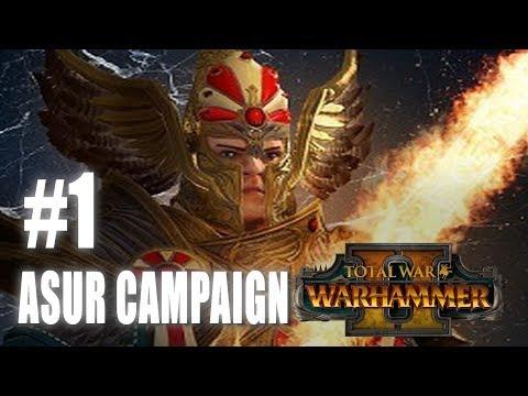 Total War: Warhammer 2 - High Elf Campaign #1