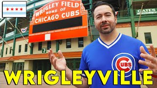WRIGLEYVILLE, CHICAGO // Neighborhood Travel Guide & Tour (Things to Do in Chicago Vlog)