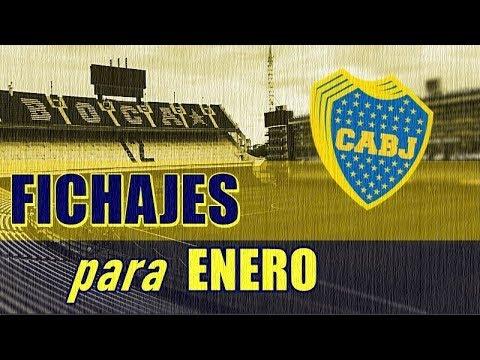 FICHAJES BOCA JUNIORS para ENERO: A por la séptima Libertadores