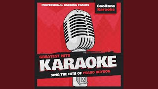 Can You Stop the Rain (Originally Performed by Peabo Bryson) (Karaoke Version)