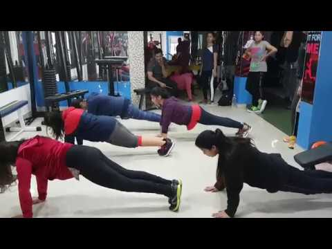 Indoor Fitness Practice : Revolution Batch 18