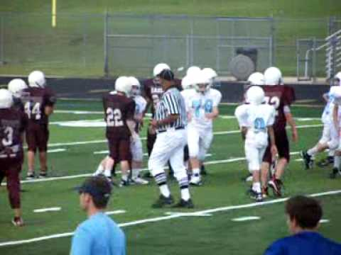 Marshall with the quarterback sack