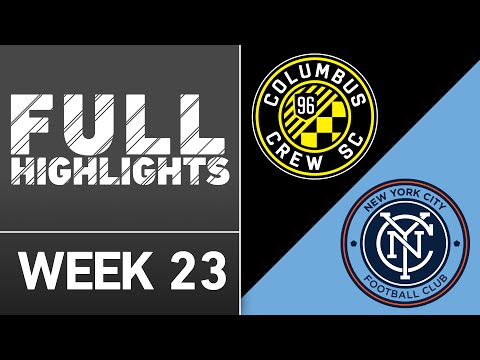 HIGHLIGHTS | Columbus Crew SC 3-3 New York City FC