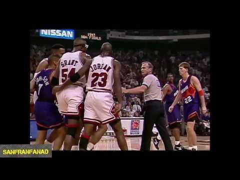 Michael Jordan Vs Suns (1993 NBA Finals Game 4) - Finals Career High 55 Pts, 8 Rebs, 21-37 FGM!