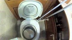 Unclogging the RV toilet