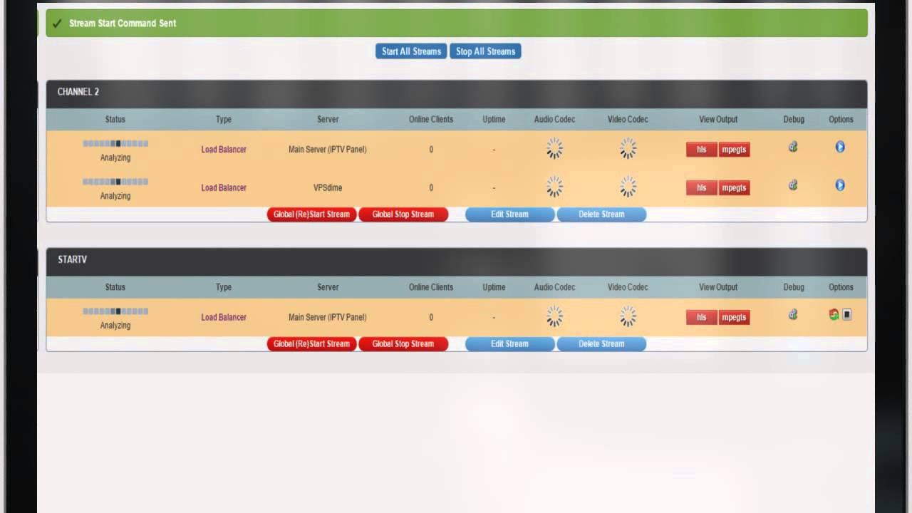Xtream Codes IPTV Panel v1 Proffesional Edition - Trailer