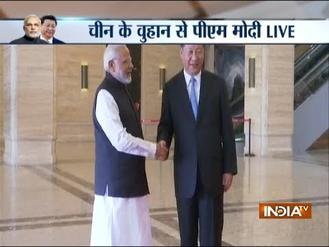 PM Modi meets Chinese President Xi Jinping in 'heart-to-heart' summit in Wuhan