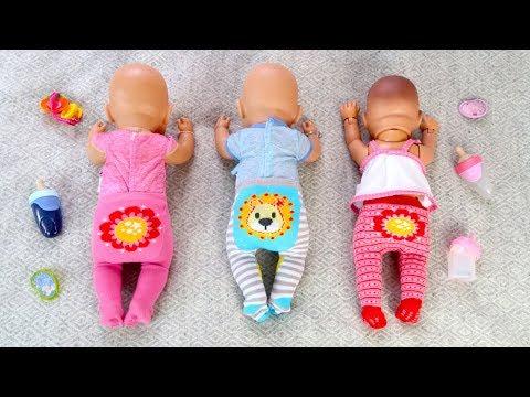 КАК МАМА Укладывала Спать Беби Бон Куклы Пупсики Мультик для детей 108мама тиви