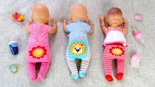 КАК МАМА Укладывала Спать Беби Бон Куклы Пупсики Мультик для детеи 108мама тиви