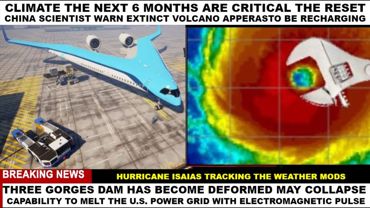 ONLY 6 MONTHS HURRICANE ISAIAS THE GRID #WEATHERWARFARE LIVE!! #ANALYSIS
