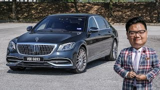 Video FIRST DRIVE: 2018 Mercedes-Maybach S-Class Malaysian review - RM1.4 million download MP3, 3GP, MP4, WEBM, AVI, FLV September 2018