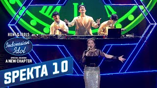 Anggi Dan Weird Genius Berhasil Membuat Rossa Terpesona - Spekta Show TOP 4   Indonesian Idol 2021