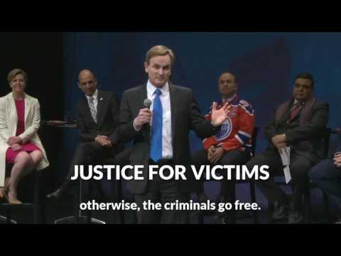 ANDREW SAXTON on Justice for Victims