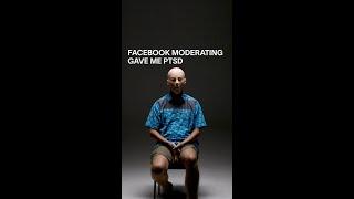 Facebook Moderating Gave Me PTSD #Shorts