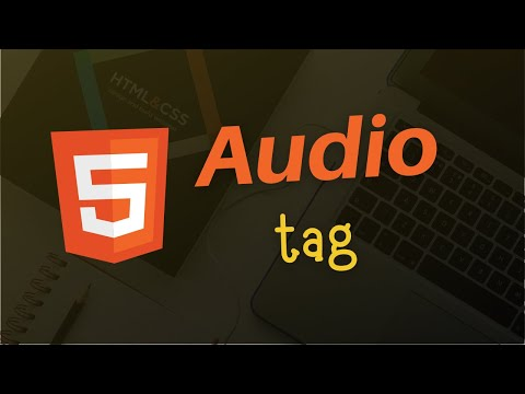 HTML Audio tag  | HTML 5 Tutorial in Hindi | Audio and Video thumbnail