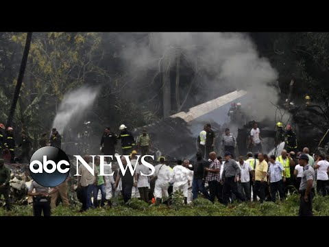 More than 100 people killed in Cuban plane crash