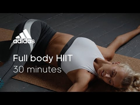 30 min Full Body HIIT with Zanna van Dijk | adidas women workouts