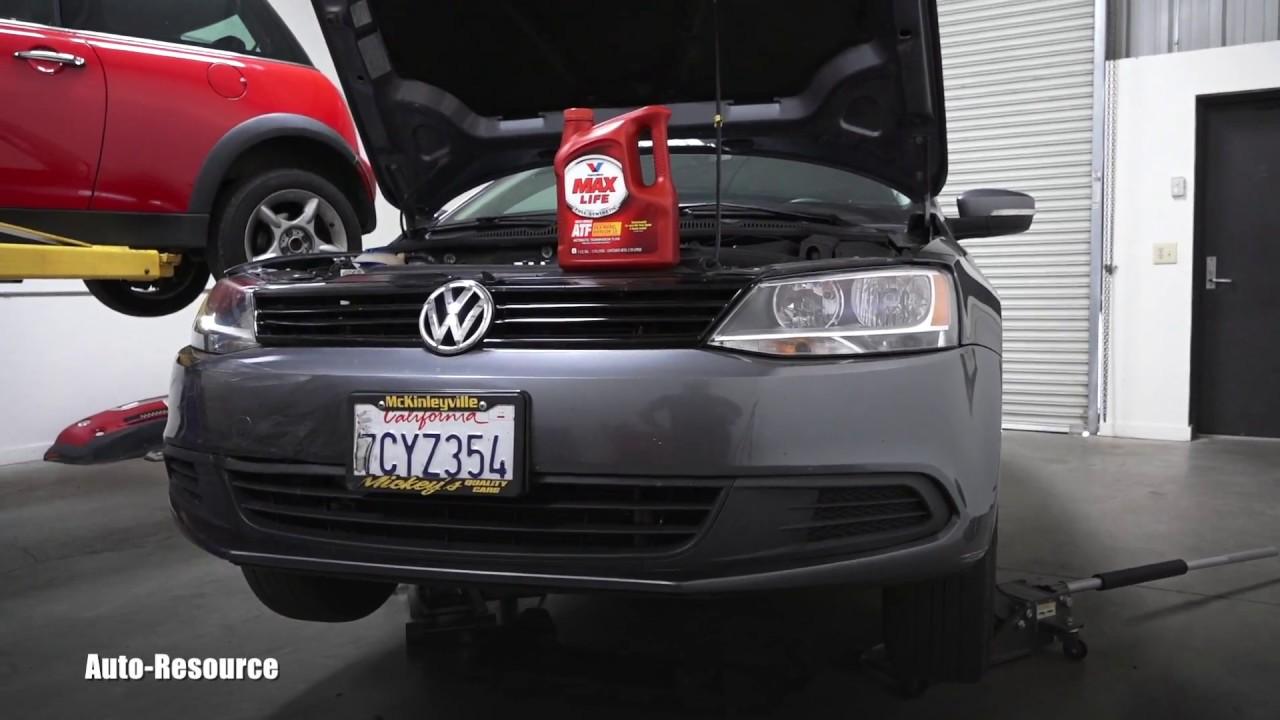 VW Jetta automatic transmission fluid flush