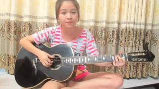 [Guitar cover] Giấc mơ trưa Hot - girl Ngọc Trương