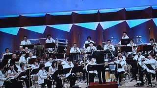 大河ドラマの平清盛の主題歌をブラスバンドで演奏している動画「題名の...