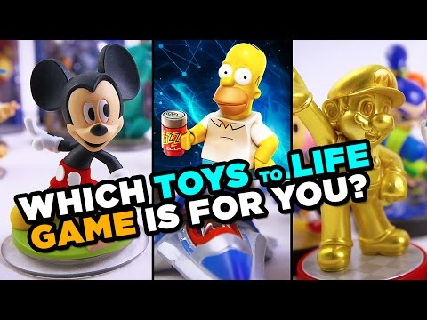 Which Toys To Life Game Is For You Youtube