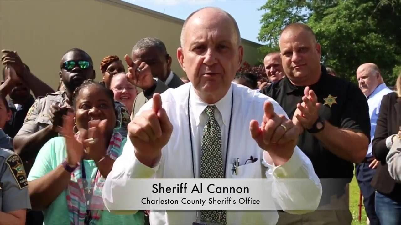 Charleston County Sheriff's Office Running Man Challenge