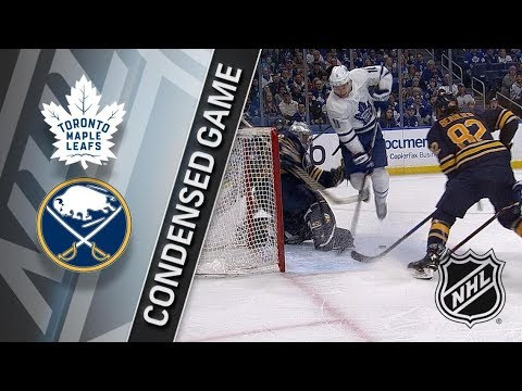 Toronto Maple Leafs vs Buffalo Sabres – Mar. 15, 2018 | Game Highlights | NHL 2017/18. Обзор