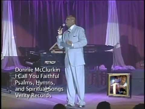 Donnie McClurkin - I Call You Faithful (Live)