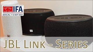 JBL Link - Google Assistant Speaker hands on (german)